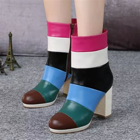colored boots popular multi colored boots buy cheap multi colored boots