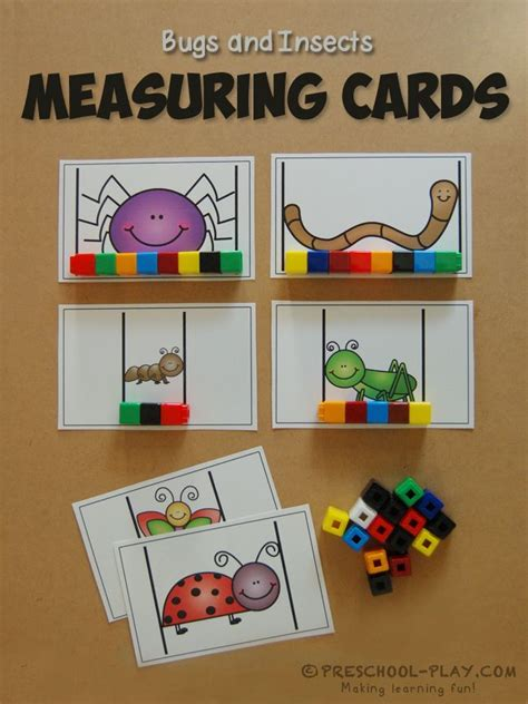 group works pattern language cards printable bugs insects math and literacy activities