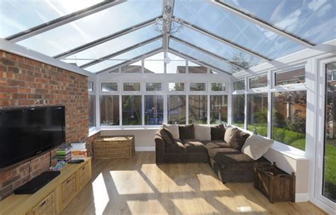 gable conservatories contemporary conservatory