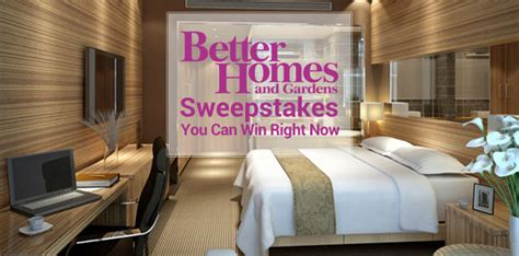 List Of Sweepstakes - bhg com sweepstakes 2016 you can win right now
