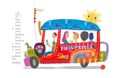 philippine jeep drawing philippine jeepney art print by robert alejandro