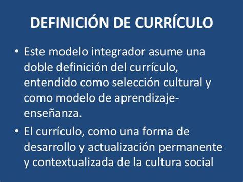 Definicion De Modelo Curricular Modelo Socio Cognitivo