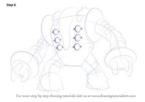 pokemon coloring pages regigigas step by step how to draw regigigas from pokemon