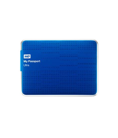 Harddisk External My Passport 1tb wd my passport ultra 1tb portable external drive blue buy rs snapdeal