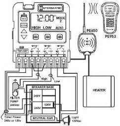 Intermatic Programmable Pool Timer Mode Guide Pinch A
