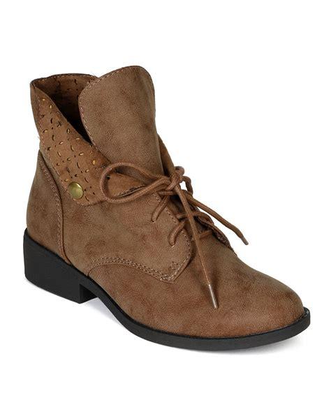 Flat Shoes Travel Camel Classic Original Brand shoes qupid bg88 nubuck perforated collar desert boot