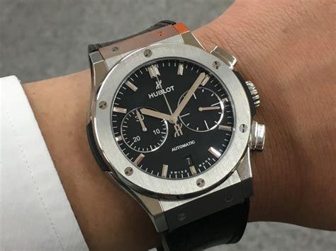Ciri Ciri Jam Tangan Emas ウブロ クラシック フュージョン 521 nx 1171 lr 実際に着けてみた 時計怪獣 watchmonster 腕時計情報メディア