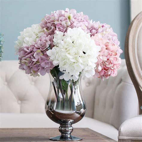 artificial flower for home decor flower heads artificial silk flower bunch wedding party