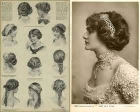 hairstyles in the the 1900s hairstyles of the early 1900s hair and makeup