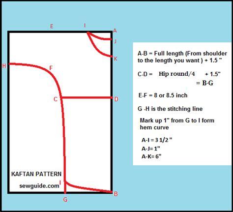 pattern matching in hibernate how to make a kaftan dress or top free pattern sew guide