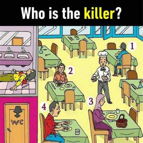 who is the killer picture puzzle who is the killer puzzlersworld