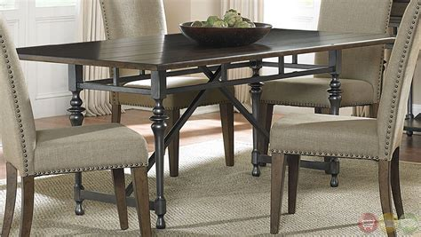 farmhouse dining room set park modern farmhouse casual dining room set