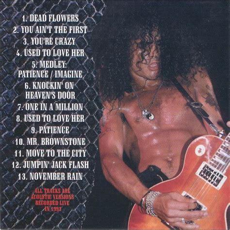 unplugged guns  roses mp buy full tracklist