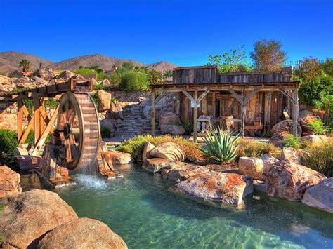 Backyard Pool With Lazy River
