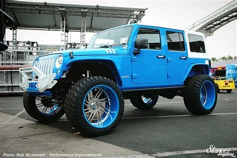 sema jeep 2016 event coverage sema 2016 winding stance is