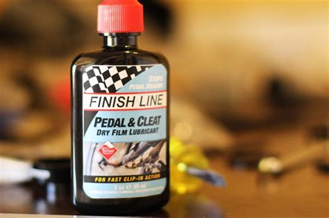 Finish Line Pedal Cleat Lubricant fresh product finish line pedal and cleat lube flow