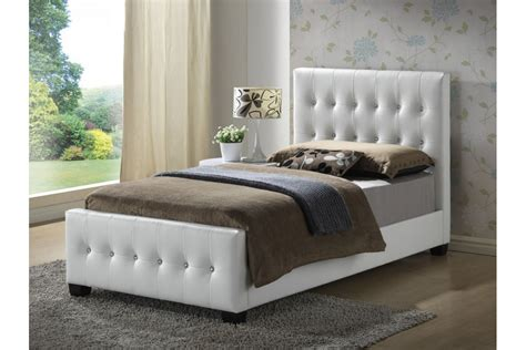 white twin size bed beds cinemark white upholstered twin size bed