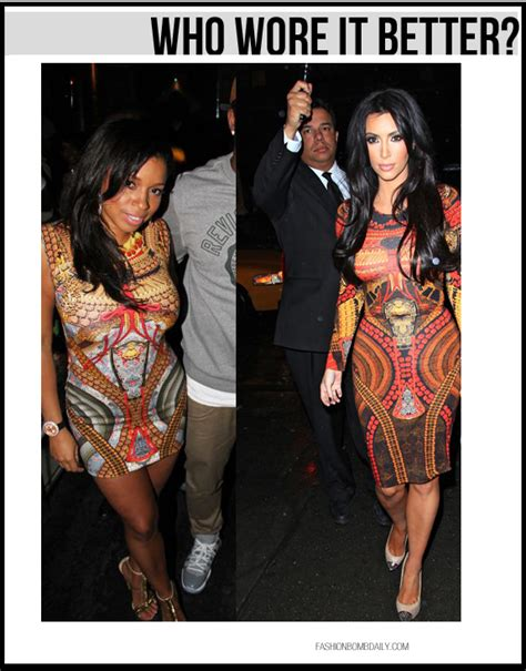 Who Wore Mcqueen Better by Who Wore It Better Mashonda Vs In