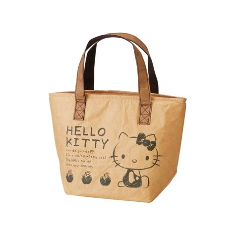 Lunch Bag Hello hello lunch tote bag 70s the shop