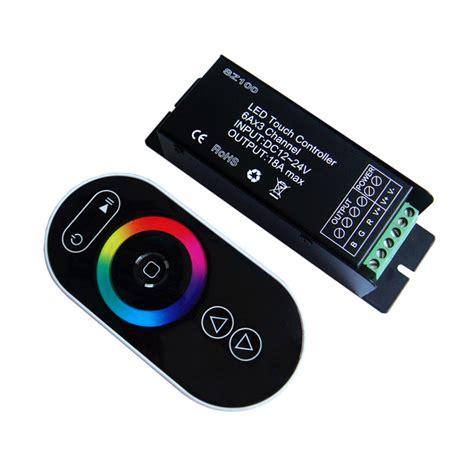 Promo Controller Led Rgb Dc 12v 24v 24a Remote Infrared 1 Rf Led Controller Mjjcled