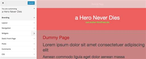 theme wordpress omega customize the omega wordpress theme with csshero