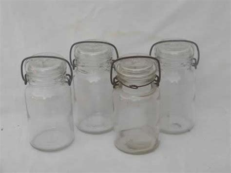 lot glass kitchen canisters or spice jars small