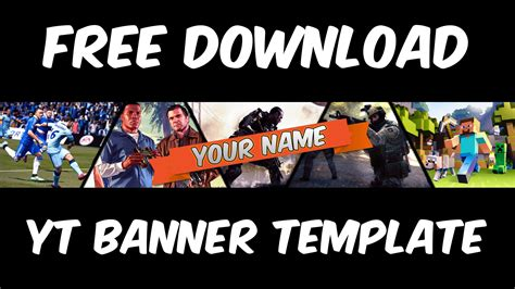 Banner Template Gaming