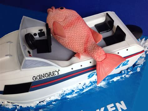 fishing boat cake tutorial fishing boat cake cakecentral
