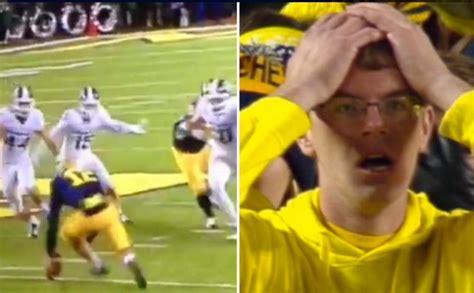 Michigan Fan Meme - photos jack o lantern of michigan vs michigan state