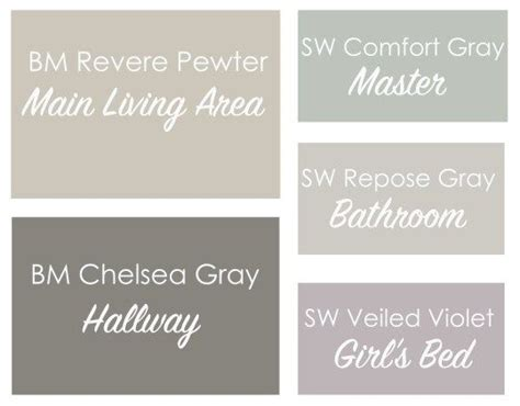 revere pewter coordinating colors best 25 coordinating paint colors ideas on