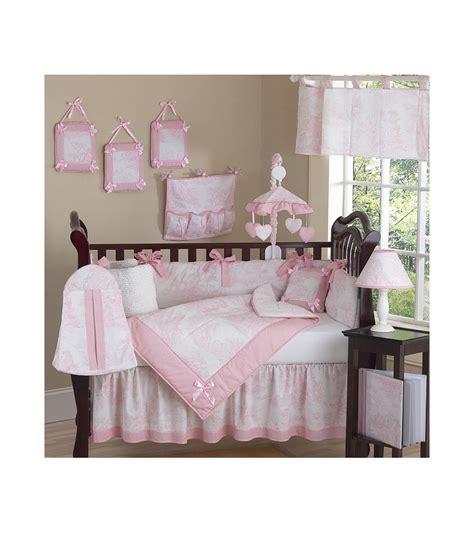 pink toile bedding sweet jojo designs pink toile 9 piece crib bedding set