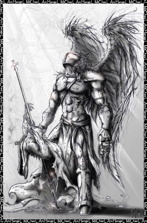michael angel tattoo designs archangel designs search tattoos