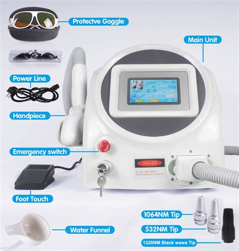 nd yag laser tattoo removal easy to use q switch nd yag laser machine 2017 best laser