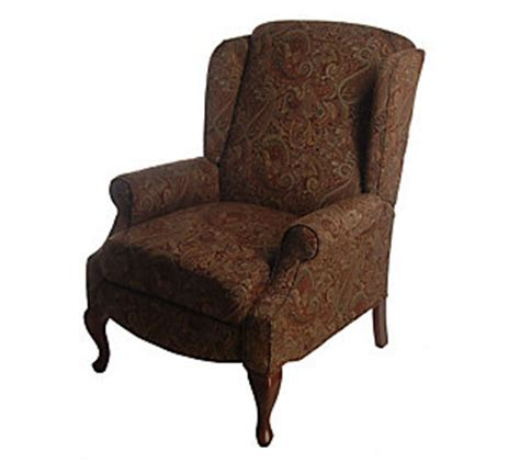 Franklin Queen Anne Style Fabric Recliner Qvc Com