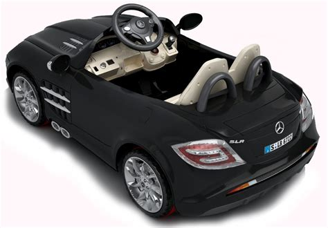si鑒e auto kiddy mercedes slr mclaren 722 electric car