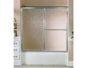 showerite shower doors showerite prestige bath tub shower by pass sliding door