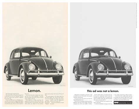 volkswagen lemon itap lecture 4 28th february design heroes helmut krone