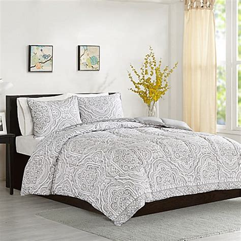 grey twin bedding buy intelligent design nessa twin twin xl comforter set in