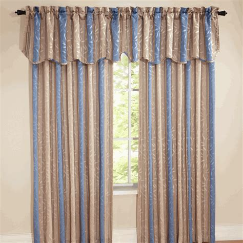 swags galore curtains whitfield stripe curtains blue view all curtains