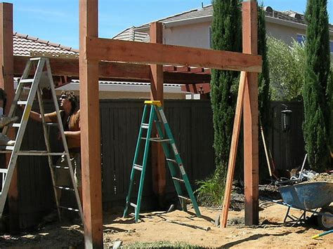 how to build a cabana diy hardscape building retaining walls walkways patios