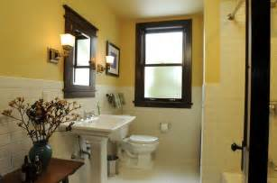 craftsman style bathroom remodeled bathrooms
