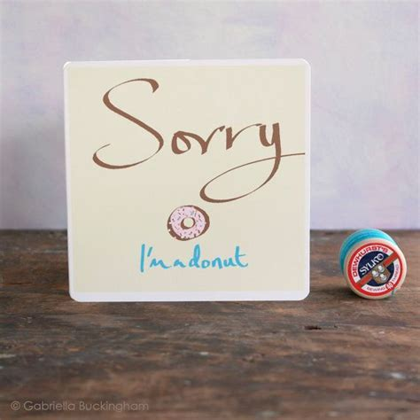 Handmade Sorry Cards - 16 best images about sorry on thunderstorms