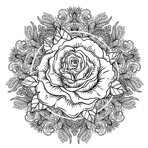 mandala coloring pages roses flower mandala flash highly detailed