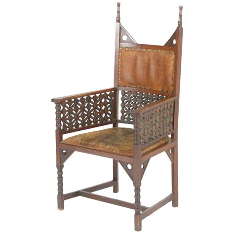 liberty armchair rare moorish armchair by liberty and co for sale at 1stdibs
