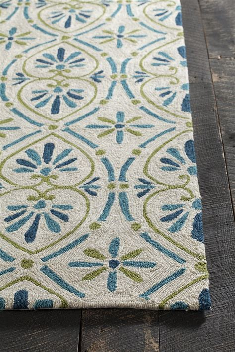 blue green rug terra collection tufted area rug in blue green design b burke decor