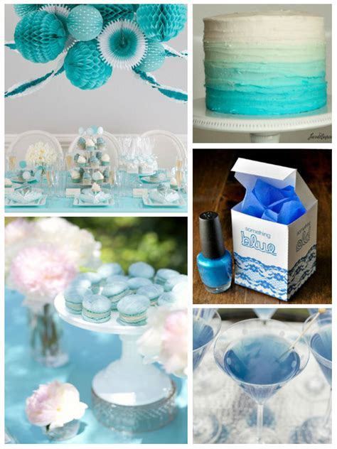 Blue Bridal Shower by Noted Finestationery Something Blue Bridal Shower