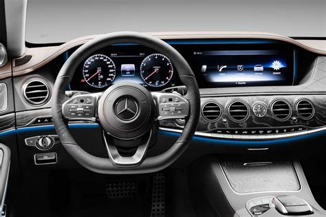 mercedes dashboard 2018 mercedes s class dashboard motor trend