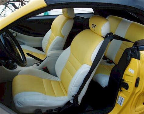 1994 Mustang Interior Parts canary yellow 1994 custom ford mustang convertible