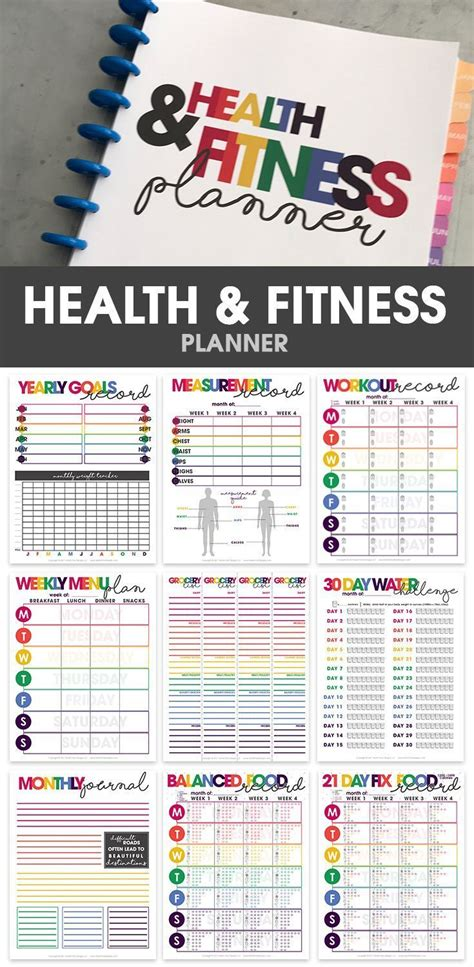 health and fitness log printable with free motivation 25 best ideas about weight loss journal on pinterest