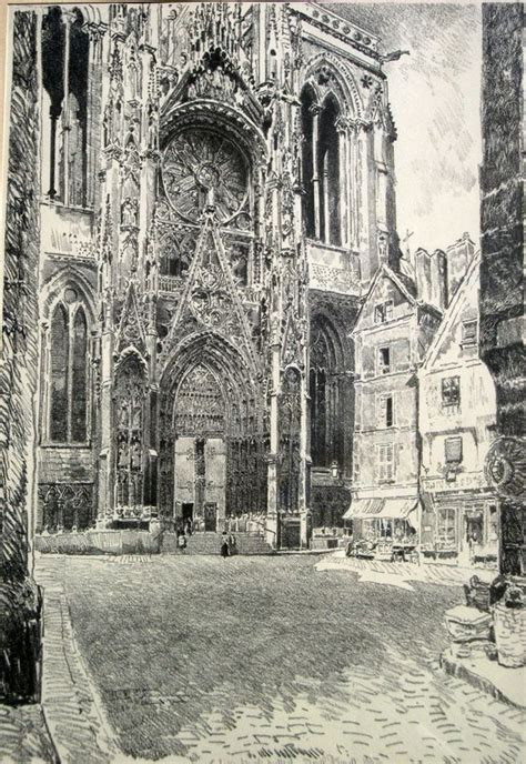 joe pennell etchings us states and cathedrals on pinterest